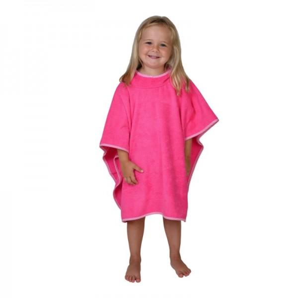 Bade Poncho, pink