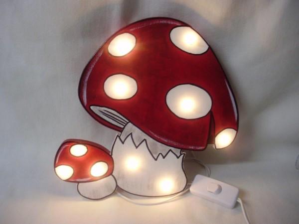 """Schlummerlampe """"Pilze"""""""