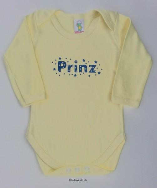 """Baby Body bedruckt """"Prinz"""""""