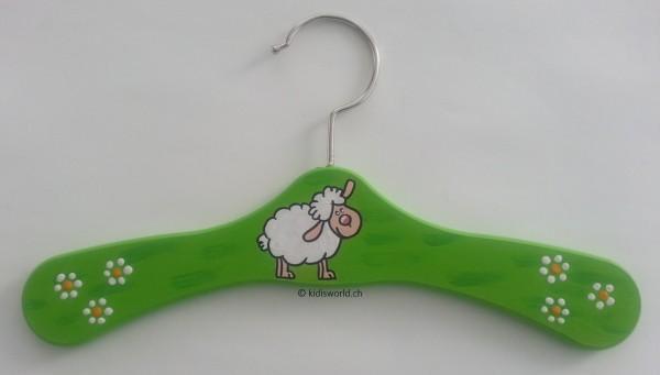 """Kleiderbügel """"Schaf grün"""""""