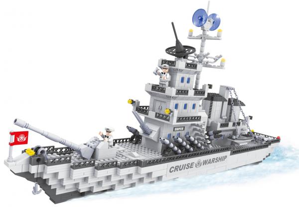 AUSINI Grosses Kriegsschiff