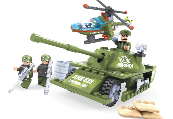 AUSINI Panzer & Helikopter Set