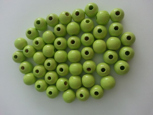 Holzperlen lemon (10 mm)