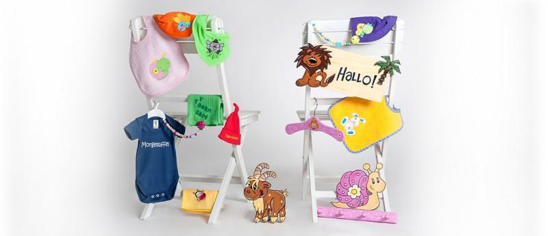 Garderobe personalisiert Geschenkidee Kleiderhaken Kinderzimmer Eichhörnchen