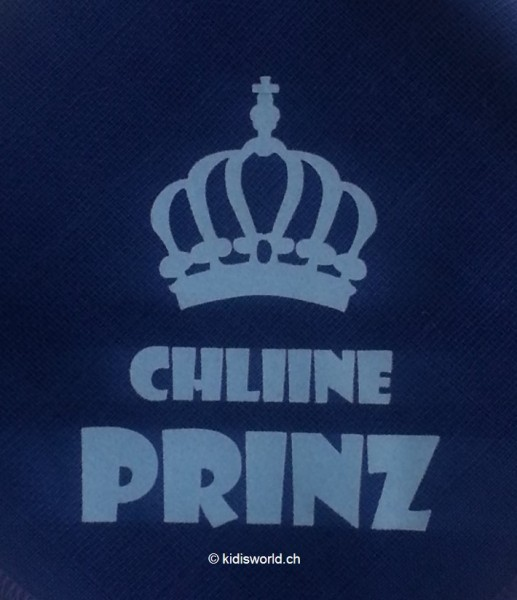 "Dreieckstuch bedruckt mit Motiv ""Chline Prinz"""
