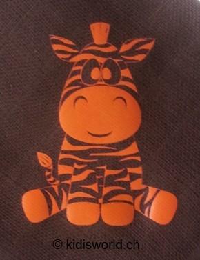 "Baby Body bedruckt ""Zebra"""