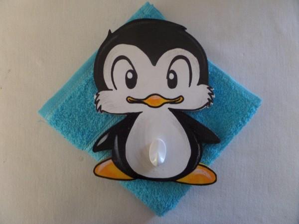 Waschlümpli Haken Pinguin Kidisworld
