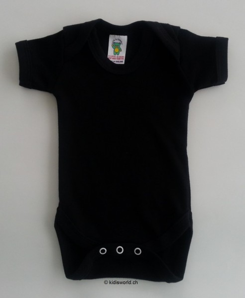 Baby Body schwarz, kurz-/langarm