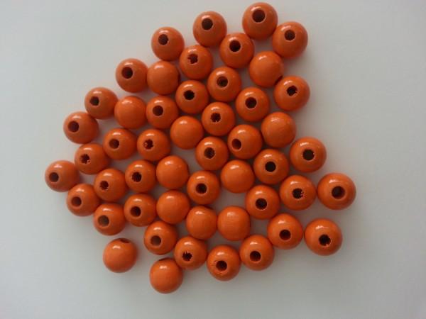 Holzperlen mandarin (10 mm)