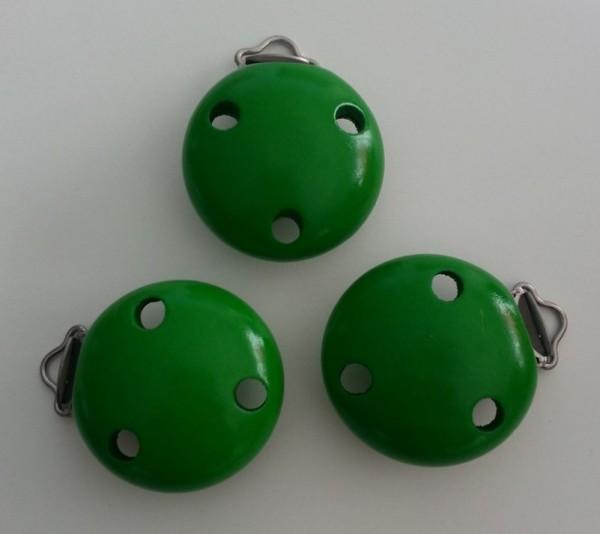 Holzclip hellgrün