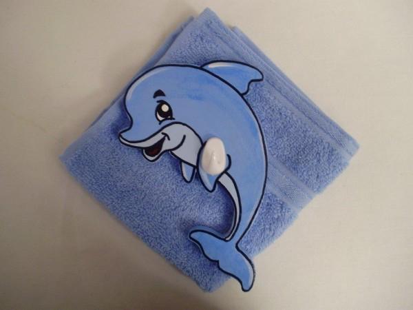 """Waschlümpli Haken """"Delfin"""""""